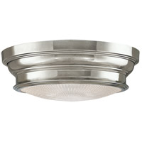 Woodstock 2 Light 13 inch Polished Nickel Flush Mount Ceiling Light