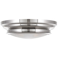 Hudson Valley Lighting Woodstock 3 Light Flush Mount in Polished Nickel 7516-PN