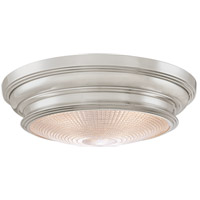 Woodstock 3 Light 16 inch Satin Nickel Flush Mount Ceiling Light