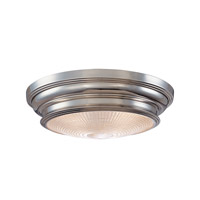 Woodstock 3 Light 20 inch Polished Nickel Flush Mount Ceiling Light