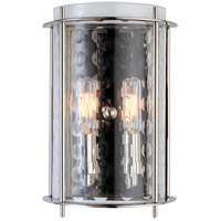 Esopus 2 Light 7 inch Polished Nickel Wall Sconce Wall Light