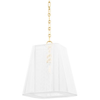 Hudson Valley Lighting Berkshire 4 Light Pendant in Aged Brass 7614-AGB