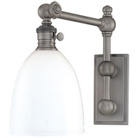 Hudson Valley Lighting Monroe 1 Light Wall Sconce in Antique Nickel 762-AN