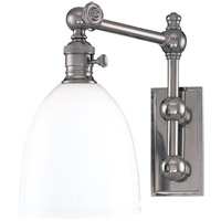 Hudson Valley Lighting Monroe 1 Light Wall Sconce in Polished Nickel 762-PN