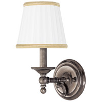 Hudson Valley Lighting Orchard Park 1 Light Wall Sconce in Historic Nickel 7701-HN