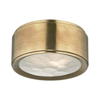 Hudson Valley Lighting Dalton 2 Light Flush Mount in Aged Brass 7710-AGB