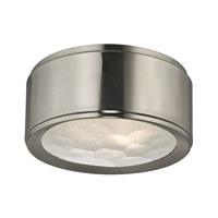 Hudson Valley Lighting Dalton 2 Light Flush Mount in Satin Nickel 7710-SN