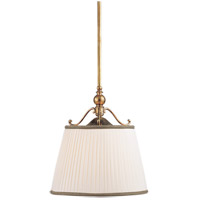 Hudson Valley 7711-AGB Orchard Park 1 Light 15 inch Aged Brass Pendant Ceiling Light photo thumbnail