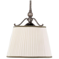 Hudson Valley 7711-HN Orchard Park 1 Light 15 inch Historic Nickel Pendant Ceiling Light