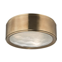 Hudson Valley Lighting Dalton 3 Light Flush Mount in Aged Brass 7713-AGB
