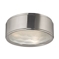 Hudson Valley Lighting Dalton 3 Light Flush Mount in Satin Nickel 7713-SN
