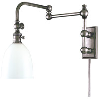 Hudson Valley Lighting Monroe 1 Light Wall Sconce in Polished Nickel 772-PN