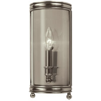 Hudson Valley 7801-HN Larchmont 1 Light 6 inch Historic Nickel Wall Sconce Wall Light
