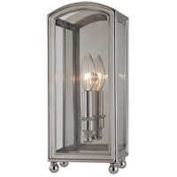 Hudson Valley 7801-PN Larchmont 1 Light 6 inch Polished Nickel Wall Sconce Wall Light