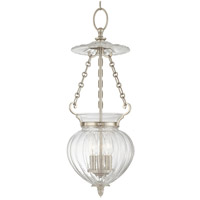 Hudson Valley Lighting Gardner 3 Light Pendant in Historic Nickel 781-HN
