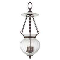 Gardner 3 Light 9 inch Old Bronze Pendant Ceiling Light