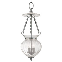 Gardner 3 Light 9 inch Polished Nickel Pendant Ceiling Light