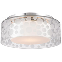 Carter LED 11 inch Satin Aluminum Semi-Flush Ceiling Light
