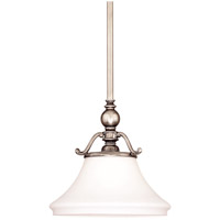 Hudson Valley Lighting Orchard Park 1 Light Pendant in Historic Nickel 7821-HN