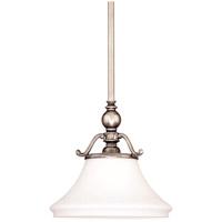 Hudson Valley 7821-HN Orchard Park 1 Light 13 inch Historic Nickel Pendant Ceiling Light