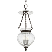 Gardner 3 Light 11 inch Old Bronze Pendant Ceiling Light