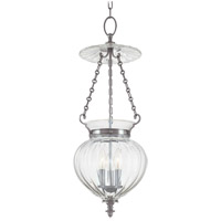 Gardner 3 Light 11 inch Polished Nickel Pendant Ceiling Light