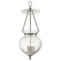 Gardner 4 Light 13 inch Historic Nickel Pendant Ceiling Light