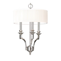 Mercer 3 Light 15 inch Polished Nickel Pendant Ceiling Light