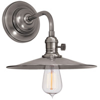 Hudson Valley Lighting Heirloom 1 Light Wall Sconce in Historic Nickel 8000-HN-MS1