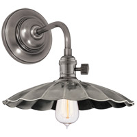 Hudson Valley 8000-HN-MS3 Heirloom 1 Light Historic Nickel Wall Sconce Wall Light in MS3, No photo thumbnail