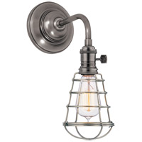 Hudson Valley 8000-HN-WG Heirloom 1 Light 6 inch Historic Nickel Wall Sconce Wall Light in Yes