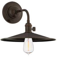 Hudson Valley 8000-OB-MS1 Heirloom 1 Light Old Bronze Wall Sconce Wall Light in MS1 No