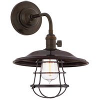 Hudson Valley Lighting Heirloom 1 Light Wall Sconce in Old Bronze 8000-OB-MS2-WG