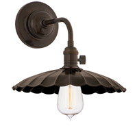 Hudson Valley 8000-OB-MS3 Heirloom 1 Light Old Bronze Wall Sconce Wall Light in MS3, No