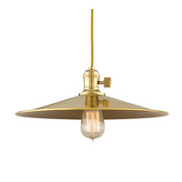 Hudson Valley Lighting Heirloom 1 Light Pendant in Aged Brass 8001-AGB-MM1