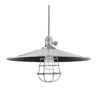 Heirloom 1 Light 17 inch Historic Nickel Pendant Ceiling Light in ML1, Yes