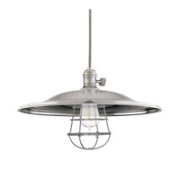 Heirloom 1 Light 17 inch Historic Nickel Pendant Ceiling Light in ML2, Yes