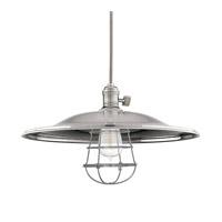 Hudson Valley 8001-HN-ML2-WG Heirloom 1 Light 17 inch Historic Nickel Pendant Ceiling Light in ML2 Yes
