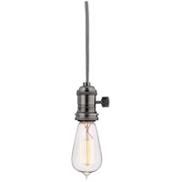 Heirloom 1 Light 2 inch Historic Nickel Pendant Ceiling Light in No