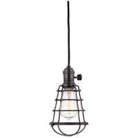 Hudson Valley Lighting Heirloom 1 Light Pendant in Old Bronze 8001-OB-WG