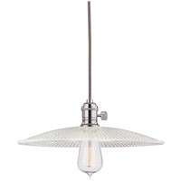 Hudson Valley Lighting Heirloom 1 Light Pendant in Polished Nickel 8001-PN-GS4