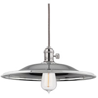 Hudson Valley Lighting Heirloom 1 Light Pendant in Polished Nickel 8001-PN-MM2