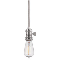 Hudson Valley Lighting Heirloom 1 Light Pendant in Polished Nickel 8001-PN