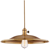 Hudson Valley Lighting Heirloom 1 Light Pendant in Aged Brass 8002-AGB-ML2