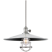 Heirloom 1 Light 17 inch Polished Nickel Pendant Ceiling Light in ML1, Yes