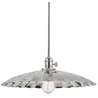 Hudson Valley Lighting Heirloom 1 Light Pendant in Polished Nickel 8002-PN-ML3