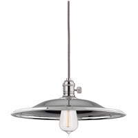 Hudson Valley Lighting Heirloom 1 Light Pendant in Polished Nickel 8002-PN-MM2