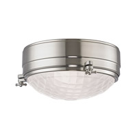 Hudson Valley Lighting Belmont 2 Light Flush Mount in Satin Nickel 8009-SN