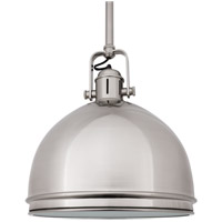 Hudson Valley Lighting Marion 1 Light Pendant in Satin Nickel 8011-SN