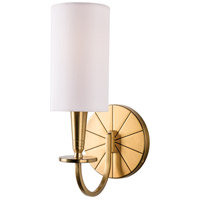 Mason 1 Light 5 inch Aged Brass Wall Sconce Wall Light
